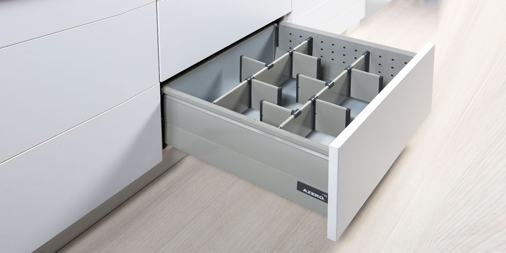 Metalic drawers