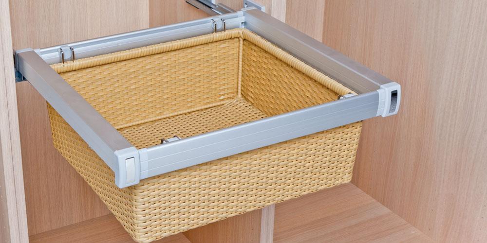 Es organizadores para cajones y armarios dequm en - Cestas extraibles para armarios ...