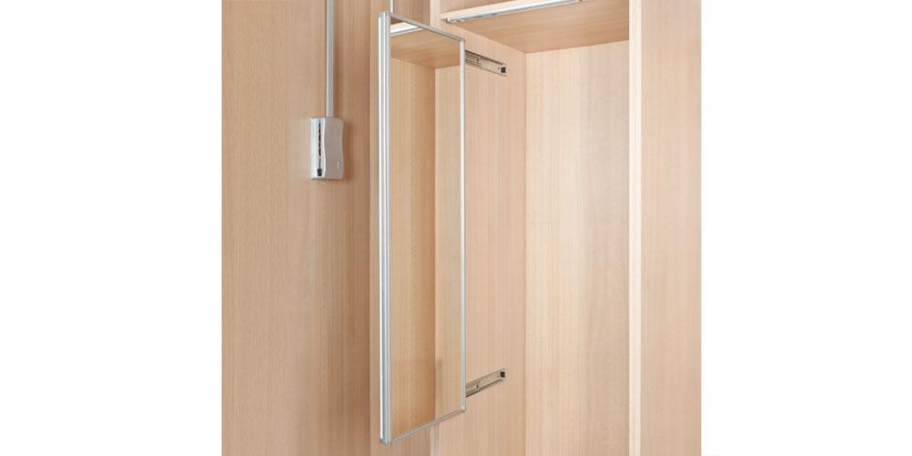 Espejos extra bles para armarios roperos dequm for Espejos para armarios