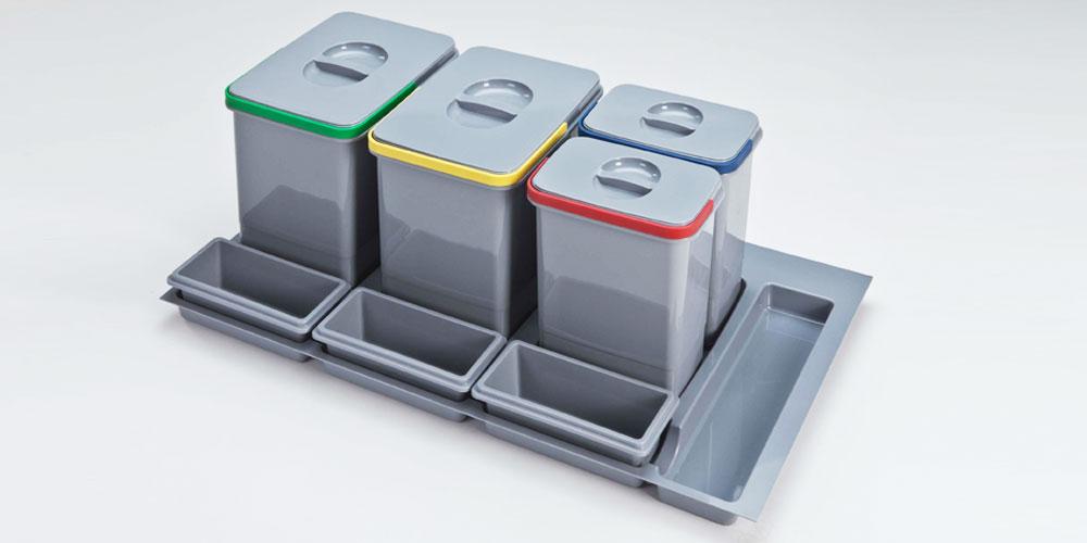 Cubos de basura dequm for Cubos de reciclaje ikea